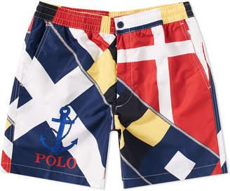 Polo Ralph Lauren CP93 Sailing Flag Print Swim Short