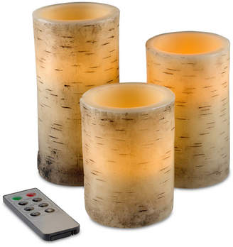Trademark Global 4-Pc. Flickering Flameless Led Candles & Remote Control Set