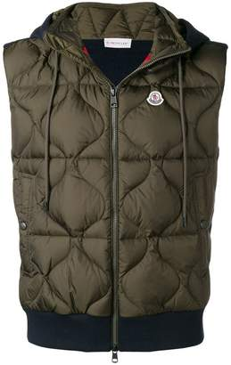 Moncler quilted padded vest