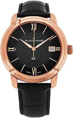 Alexander Men's Analogue Quartz Watch with Other Strap A111-05