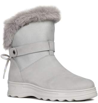 Geox Hosmos ABX Waterproof Faux Fur Trim Boot