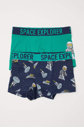 H&M 2-pack Boxer Shorts - Green