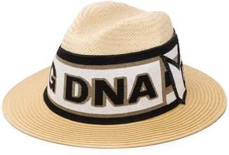 0e8b0486a6408 Dolce   Gabbana flat cap in straw