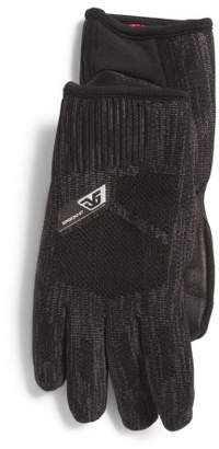 Ergoknit Leather Palm Gloves