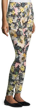 MIXIT Mixit Print Knit Floral Leggings
