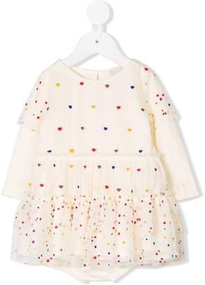 Stella McCartney hearts print dress