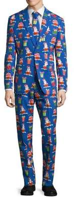 Opposuits Slim-Fit Giftmas Eve Suit with Tie