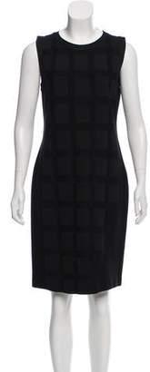 Chanel Paris-Shanghai Silk-Blend Dress