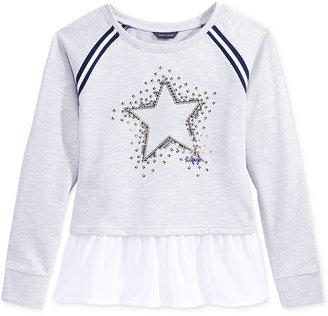 Tommy Hilfiger Sequin-Star Sweater, Big Girls (7-16) $39.50 thestylecure.com