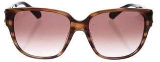 Balmain Gradient Logo-Accented Sunglasses
