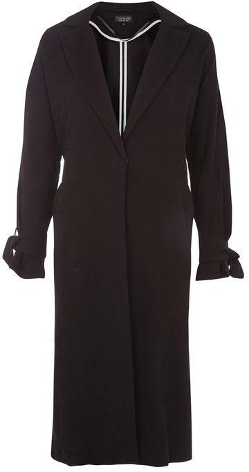 TopshopTopshop Plisse duster coat