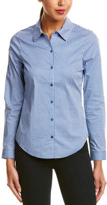 NYDJ Gingham Woven Top