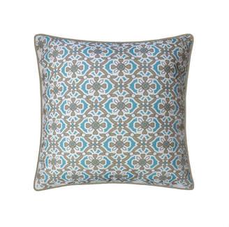 Ediehome Edie@Home Tile Print Reversible Outdoor Pillow