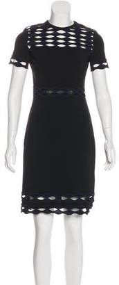 Yigal Azrouel Embroidered Knee-Length Dress