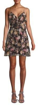 Bailey 44 Object of Desire Floral Mini Dress