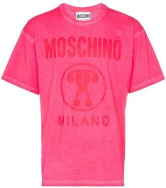Moschino milano logo cotton T-shirt