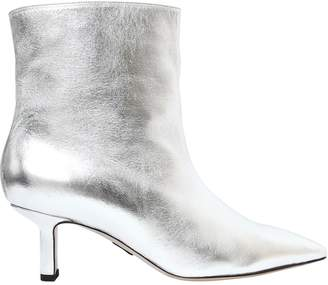 Paul Andrew 55mm Metallic Nappa Leather Ankle Boots