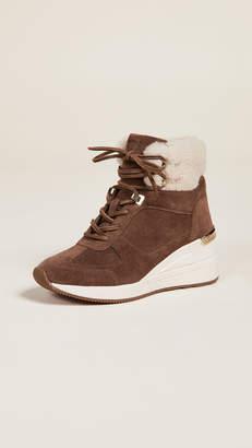 MICHAEL Michael Kors Liv Shearling Sneakers
