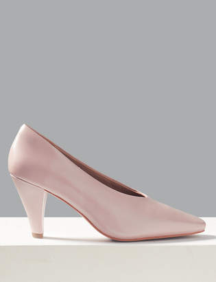 994c2c51a4 Marks and Spencer Leather Stiletto Heel Court Shoes
