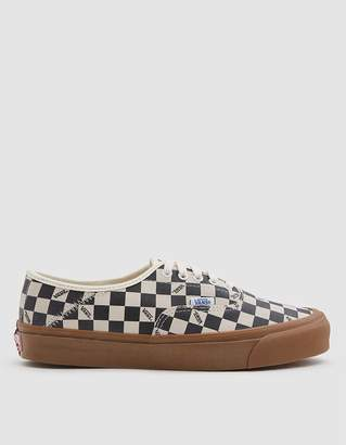 Vans Vault By OG Style 43 LX in Checkerboard