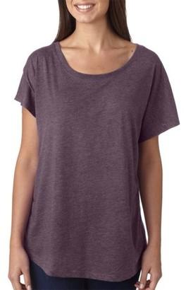 Clementine Apparel Women's Tri-Blend Dolman Fashion T-Shirt