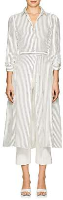 Co Women's Striped Silk Crepe Shirtdress