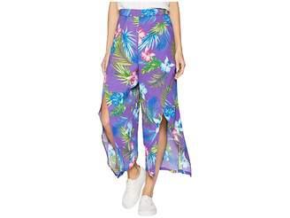 Romeo & Juliet Couture Front Slit Pants Women's Dress Pants