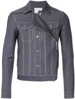 Dion Lee faux front denim jacket