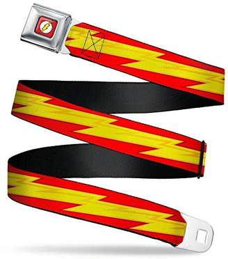 Buckle-Down Men's Seatbelt Belt the Flash Regular