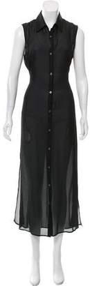 Tess Giberson Silk Maxi Dress w/ Tags