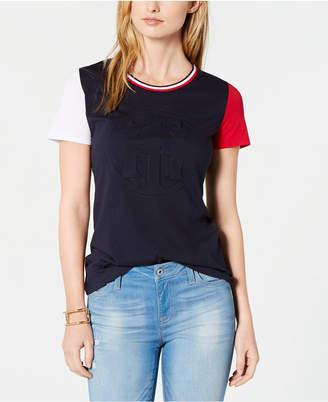 Tommy Hilfiger Embossed Logo T-Shirt