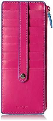 Lodis Audrey RFID Credit Card Case with Zipper Pocket