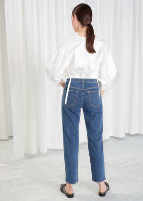 Loose Tapered Fit Jeans