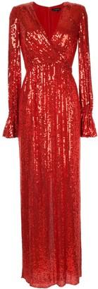 Jenny Packham sequin gown