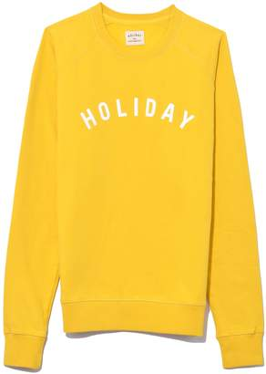 Holiday Logo Sweatshirt in Yellow