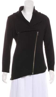 Helmut Lang Asymmetrical Zip-Up Jacket