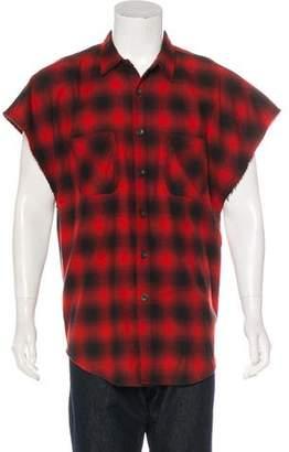 Fear Of God Plaid Flannel Shirt