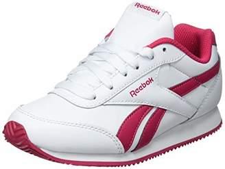 buy popular 7cc00 0a776 Reebok Girls  Royal Cljog 2 Fitness Shoes, Multicolour (White Rugged Rose  000