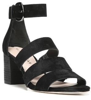 Women's Via Spiga Carys Block Heel Sandal $195 thestylecure.com