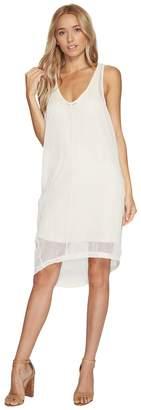 Heather Daryl Square Mesh Tank Dress Women's Dress