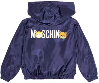 Moschino Kids Printed raincoat