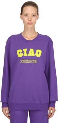 Fiorucci Ciao Printed Cotton Sweatshirt