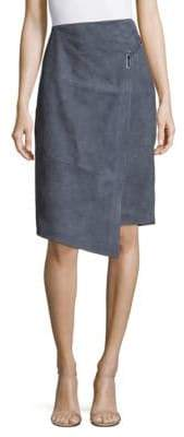 Parker Hurley Leather Skirt