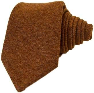 40 Colori Rust Solid Wool Tie