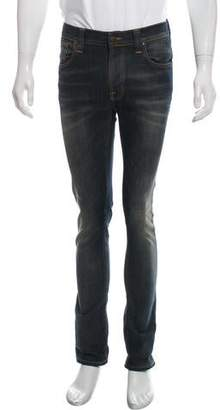 Nudie Jeans Thin Finn Distressed Jeans