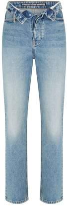 Alexander Wang Cult Flip High-Waist Jeans
