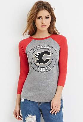 Forever 21 Calgary Flames Graphic Tee
