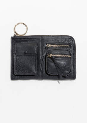 And other stories Quad Pocket Clutch