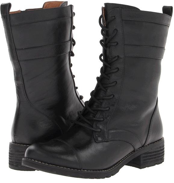 Sofft Avery (Black/Black Belize) - Footwear