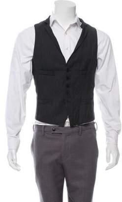 Neil Barrett Wool Suit Vest wool Wool Suit Vest